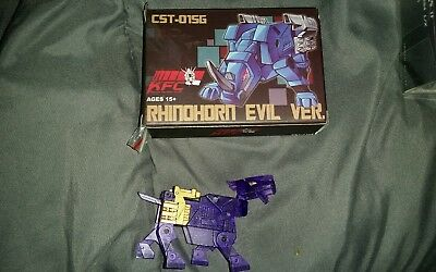 SALE Transformer cassettes KFC cst-01sg  rhino horn justice dark energon version
