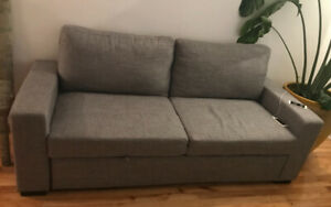 Brand new modern sofa -bed convertible