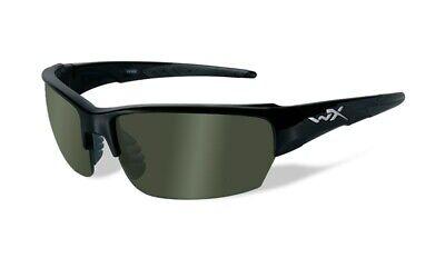 WILEY X SAINT polarisiert green Lens Ballistic Brille BLACK OPS Sonnenbrille