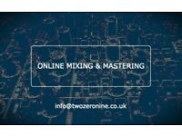 Online Mixing & Mastering Services!