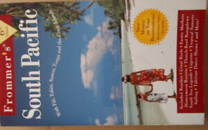 """Travel book Frommer's collection  """"South Pacific"""""""