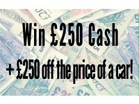 Hyundai i30 - £250 to be won on Assist Car Credit Facebook