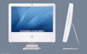 "Apple G5 AIO Desktop Computer, 24"" Screen"