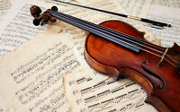 Music Lessons for Violin, Viola and Cello!