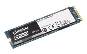 Kingston A1000 480 gig m.2 Nvme Solid state drive