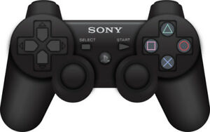 2x Sony PlayStation 3 PS3 Dualshock 3 Wireless Controllers