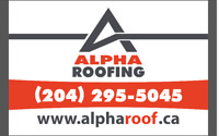 Affordable and Quick Roof Repairs - CALL  204-295-5045