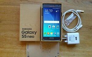 (TELUS/KOODO) SAMSUNG GALAXY S5 NEO INCLUDE BOX + CHARGER