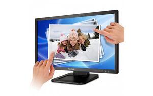 "Viewsonic 22"" FullHD LED Touch Monitor 5ms Speakers DVI VGA USB"