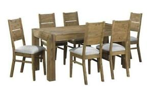 *** BRAND NEW *** HUGE SALE *** DISTRESSED DRIFTWOOD DINING TABLE SET***LIMITED STOCK****