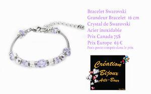 bijoux Swarovski perle peirre semi precieuse etc