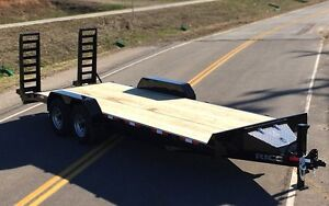 SKIDSTEER EQUIPMENT TRAILER
