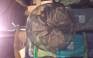 LARGE HANGING INDUSTRIAL FAN $85 CALLS ONLY 905-818-5002 ***