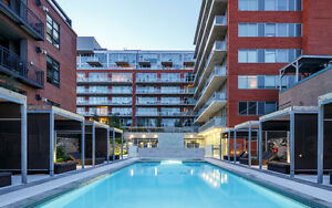 Exclusive price at The Hideaway in Centretown - 2 bedroom unit