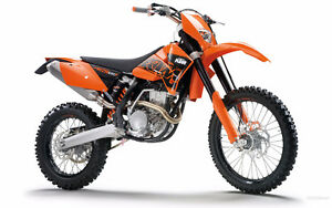 I am looking for a 2007 ktm 250exc enduro bike.