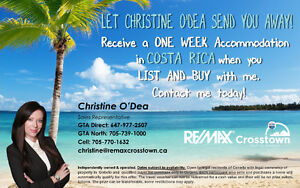 Let Christine O'Dea Send you Away !
