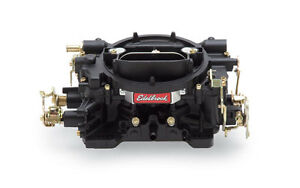 Edelbrock - Carburateur 600 CFM manual choke - noir (14053-ka)