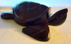 Wooden turtle hand crafted from Mexico Gatineau Ottawa / Gatineau Area image 3