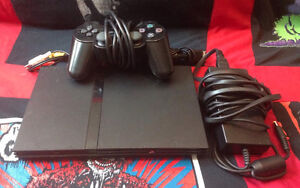 Playstation 2 Slim Black Console PS2 complete