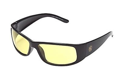 Smith Wesson Elite Safety Glasses With Black Frame And Amber Anti-fog Lens