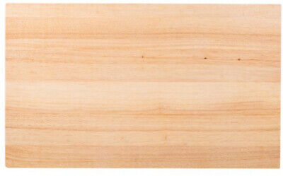 30 x 18 x 1 3/4 Wood Commercial Restaurant Solid Cutting Board Butcher -