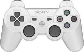 Sony Dual Shock PS3 Controller White