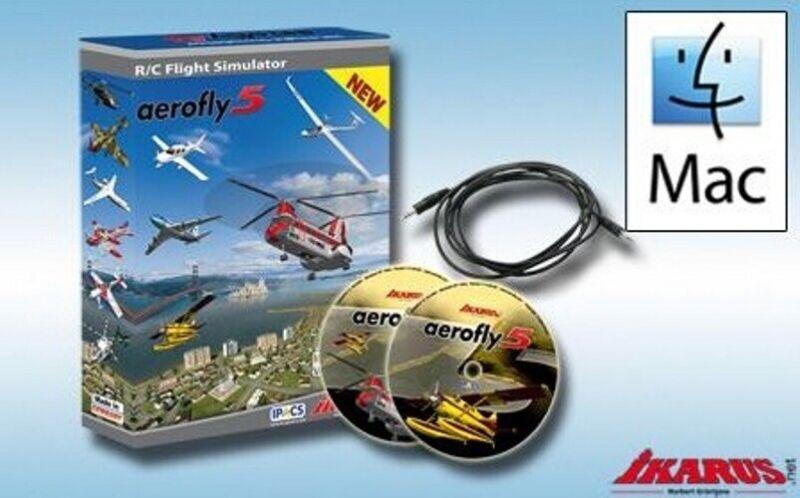 Ikarus 3071004 Aerofly 5 Flight Simulator for Mac USB-Interface Version