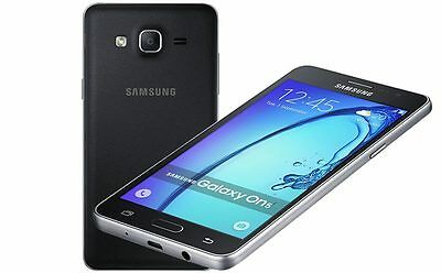 New Samsung Galaxy On5 Black 4G LTE AT&T T-Mobile Unlocked Smartphone