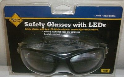 Led Lights For Glasses (ANSI Approved Safety Glasses With Built in LED For Hands Free)