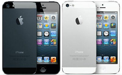 Apple iPhone 5 Factory Unlocked GSM SmartPhone 16GB 32GB 64GB Black or White](iphone 5 32gb white unlocked)