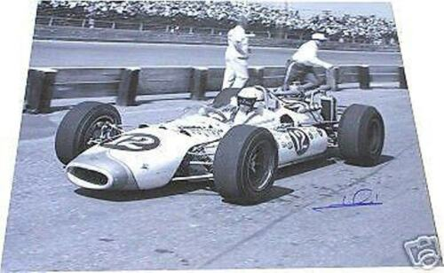 MARIO ANDRETTI  AUTOGRAPHED  INDY 500 16 X 20 PHOTO