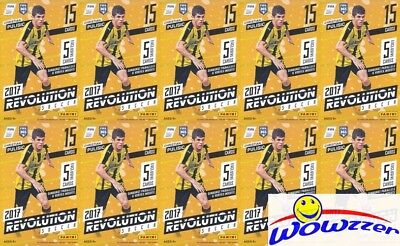 (10) 2017 Panini Revolution Soccer EXCLUSIVE Hanger Box-20 VORTEX+30 SUNBURST