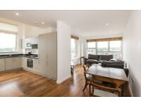 2 bed/2 bath Top-Floor New-Build Appt available now. Moments from tube!