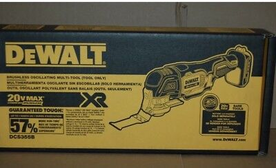 Brand New DEWALT DCS355B 20V MAX XR Oscillating Multi-Tool Bare Tool