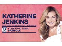 Katherine Jenkins outdoor summer concert