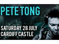 1 x Ticket Available - Pete Tong Ibiza Classics - Cardiff Castle Saturday 28th July 2018