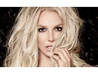 2 'Lower Tier' Britney Spears Tickets Manchester Arena 18/8/18
