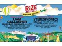 2 Rize Festival Friday Tickets