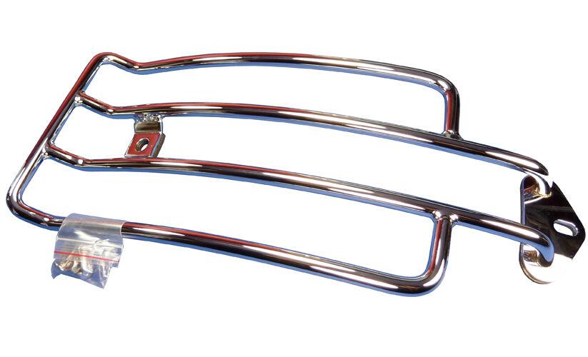 Chrom Motorrad Gepäckträger 36 cm lang für Harley Davidson Sportster bis 03