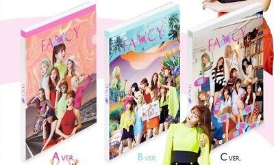 Twice-[Fancy You]7th Mini Album Random CD+Poster+Book+Card+Sticker+Gift