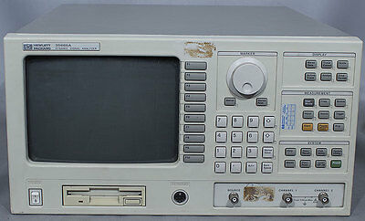 Hp 35665a 2-channel Dc-102.4 Khz Fft Dynamic Signal Analyzer 1c21d21d4ana