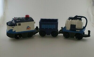 Fisher Price Geo Trax - Oceanside FLyer only -- no remote - lights up