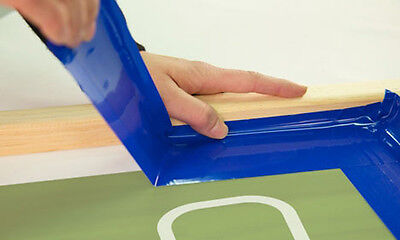 Silk Screening Screen Printing 2 Blue Blockout Tape - 6 Rolls