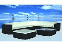 Garden Furniture! Brand New 24pc Large Outdoor Rattan Corner Sofa Set - Fully Assembled!