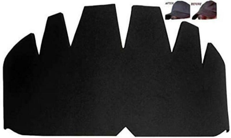 4pk. Black Baseball Caps Crown Inserts, Flexible & Long Lasting Hat Shaper, Foam