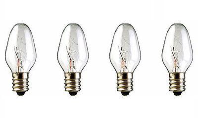 4-Pack - Bulbs for Scentsy Plug-In Nightlight Warmer wax diffuser, 15W 120V