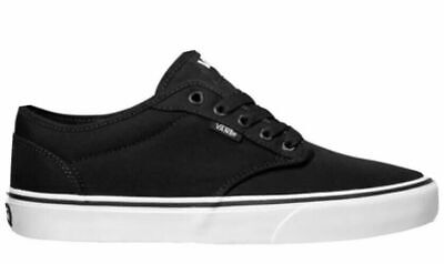 Vans Atwood Canvas Shoes - Men's Black Size 8 or 12 - New with FREE Shipping!