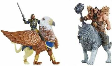 Warcraft Mini Figures Deluxe Set - Lothar vs Blackhand (M...