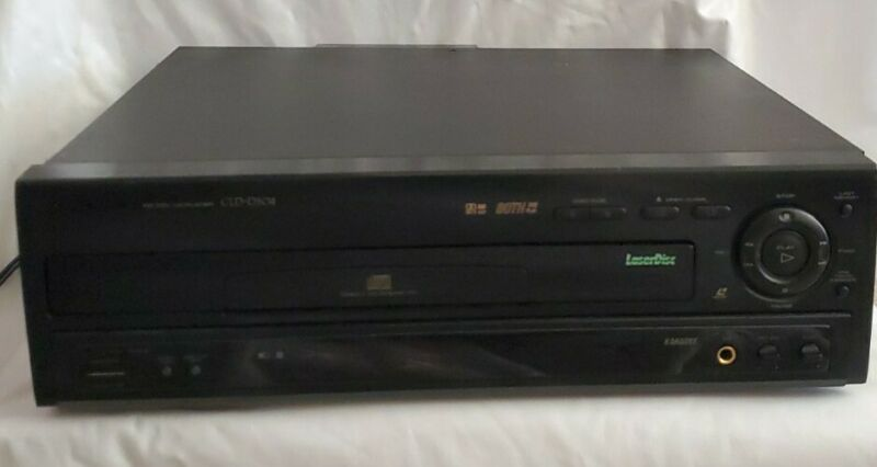 Pioneer CLD -D504 CD CDV LaserDisc Player Tested And Works