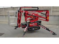 Looking for a mini tracked cherry picker to hire in Dumfries and Galloway